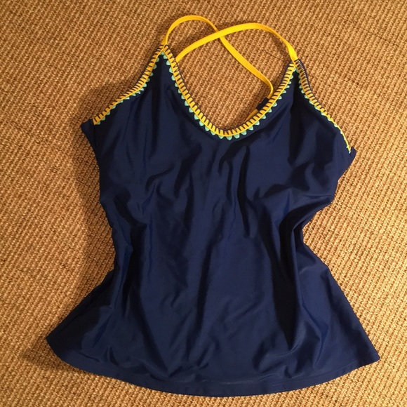 6dd10b69d3cf1 Jessica Simpson Swim | Ranking Suit Top | Poshmark